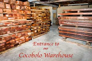 cocobolo warehouse entrance