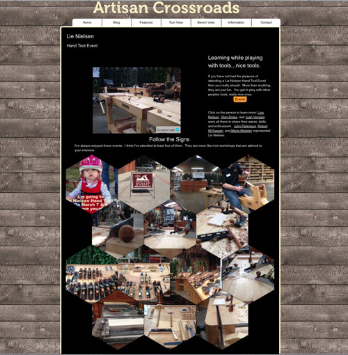 Artisan Crossroads Website
