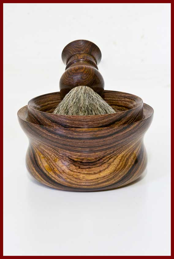 cocobolo shaving bowl and brush v2